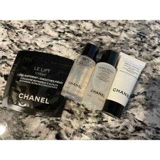 CHANEL - オマケ付 CHANEL 化粧水クリーム美容液 ルリフト イドゥラ サンプルセット