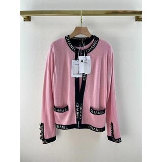 CHANEL - CHANEL ピンクウールのセーター