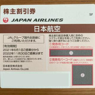 ジャル(ニホンコウクウ)(JAL(日本航空))のJAL 日本航空 株主優待 冊子付き(その他)