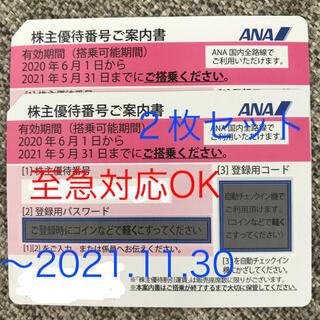 ANA株主優待券 2枚セット(その他)