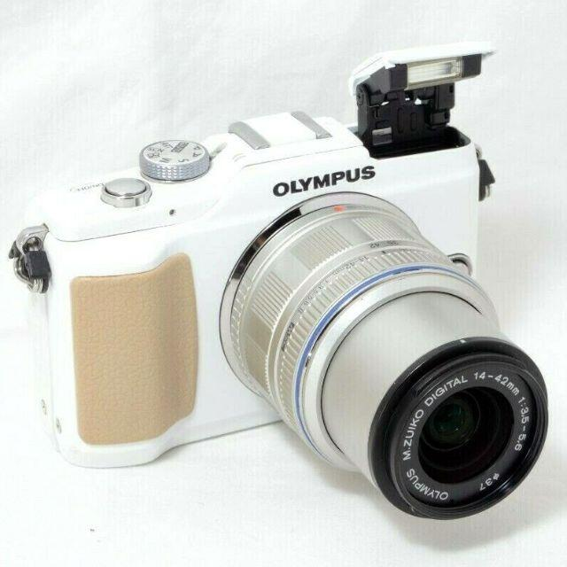 OLYMPUS(オリンパス)の★手振れ補正付★OLYMPUS オリンパス PEN Lite E-PL2 スマホ/家電/カメラのカメラ(ミラーレス一眼)の商品写真