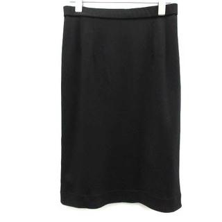 レオナール(LEONARD)のレオナール FASHION スカート タイト ストレッチ ひざ丈 67 黒 (ひざ丈スカート)