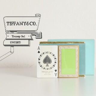 ティファニー(Tiffany & Co.)の未使用 TIFFANY ティファニー トランプ 2個セット(トランプ/UNO)