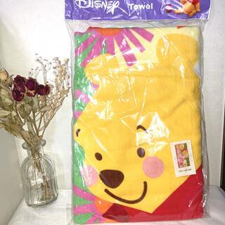 ディズニー(Disney)の【新品未使用】プーさんとピグレットのタオルケット(タオルケット)