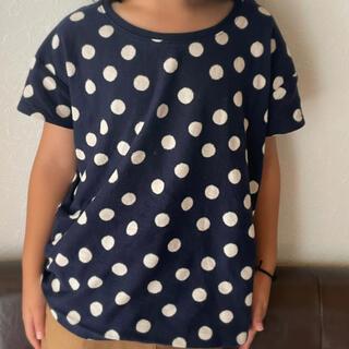 ムジルシリョウヒン(MUJI (無印良品))の無印 水玉 Tシャツ(Tシャツ/カットソー)