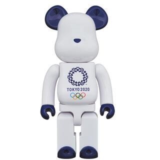 ベアブリック 400% 100%(東京2020オリンピックエンブレム)(キャラクターグッズ)
