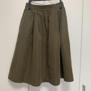 テチチ(Techichi)のTe chichi スカート 深緑色 Sサイズ(ひざ丈スカート)