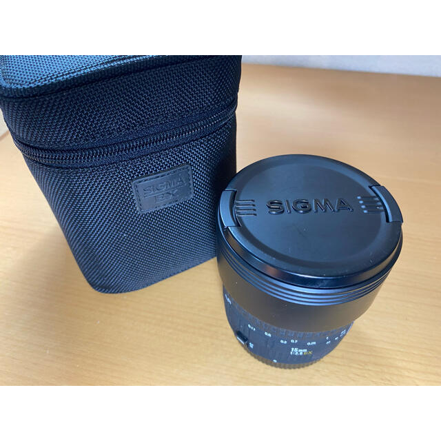 SIGMA(シグマ)のSIGMA 15mm F2.8EX DG  FISHEYE (キヤノン用) スマホ/家電/カメラのカメラ(レンズ(単焦点))の商品写真