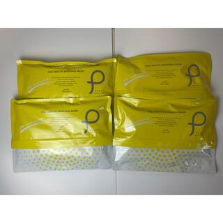 【セット】PLuS プリュ ワンミニット モーニングマスク 30枚入り×4セット(パック/フェイスマスク)