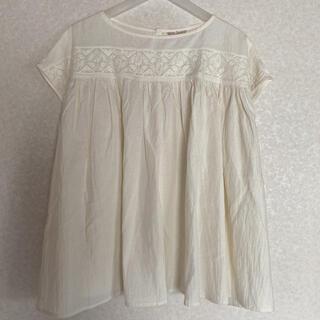 SM2 - 【サマンサモスモス】未使用タグ付き✨胸元刺繍ブラウス