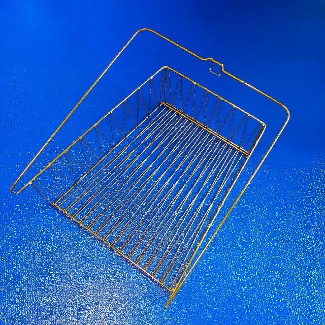 IKEA(イケア)のIKEA ワイヤーバスケット ゴールド インテリア/住まい/日用品のインテリア小物(バスケット/かご)の商品写真