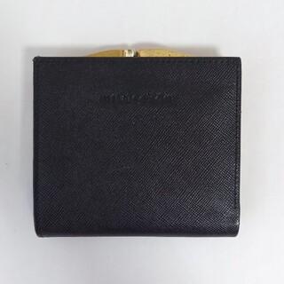 ミラショーン(mila schon)のmila schon がま口二つ折り財布 レディース(財布)