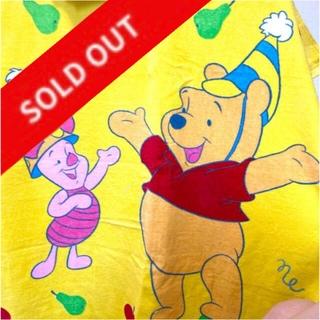 ディズニー(Disney)の【未使用】プーさんとピグレットのタオルケット(タオルケット)