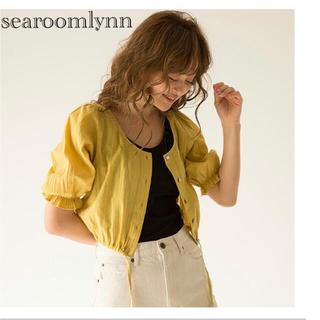 シールームリン(SeaRoomlynn)の2wayヘムデザインブラウス パパイヤ シールームリン(シャツ/ブラウス(半袖/袖なし))