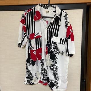 HOLLYWOOD RANCH MARKET - ALOHA 聖林公司 日本製 アロハシャツ