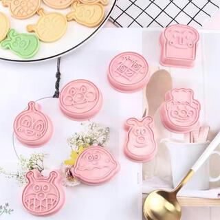 アンパンマン クッキー型抜き  ケーキ型(調理道具/製菓道具)