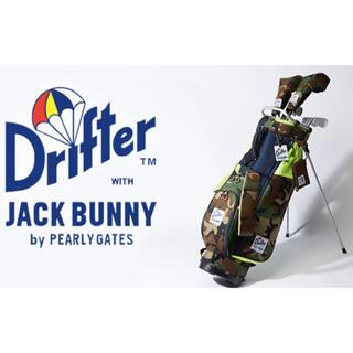 パーリーゲイツ(PEARLY GATES)の美品!Jack Bunny!! × Drifter キャディバッグ  HC×2(バッグ)