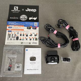 ジープ(Jeep)の値下!【Jeep純正】前後ドライブレコーダー(Jeepオリジナルシール付き)(車内アクセサリ)