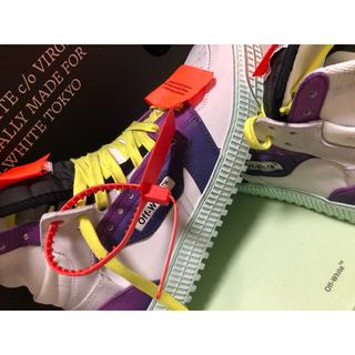 オフホワイト(OFF-WHITE)のoff-white court sneaker 38(スニーカー)