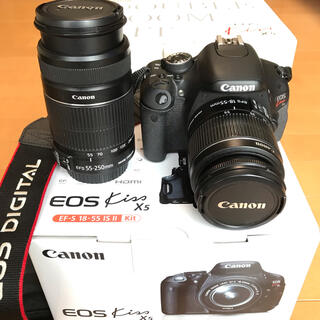 Canon - 【美品】Canon EOS Kiss X5 ダブルズームキット