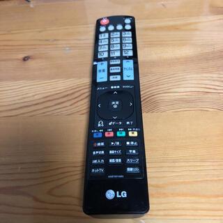 エルジーエレクトロニクス(LG Electronics)のLG テレビリモコン akb72914263(その他)