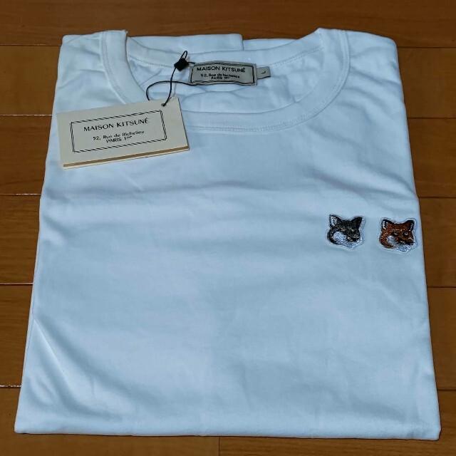 MAISON KITSUNE'(メゾンキツネ)のメゾンキツネ Tシャツ Mサイズ ユニセックス MAISON KITSUNE レディースのトップス(Tシャツ(半袖/袖なし))の商品写真