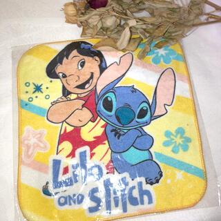 ディズニー(Disney)の【新品未使用】リロとスティッチのハンカチ(日用品/生活雑貨)