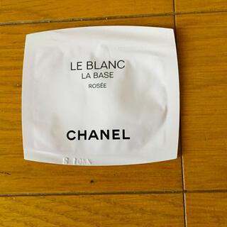 シャネル(CHANEL)のシャネル メークアップベース サンプル(化粧下地)