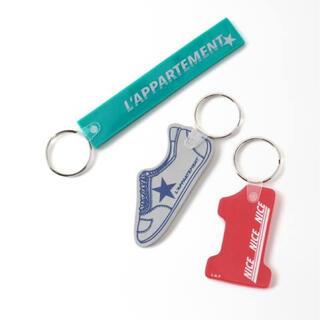 L'Appartement DEUXIEME CLASSE - アパルトモン Quiky Key Tag 3P Set(No.1) キーホルダー