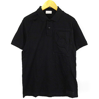 モンクレール(MONCLER)のモンクレール 19SS ジーニアス CRAIG GREEN ポロシャツ 黒(ポロシャツ)