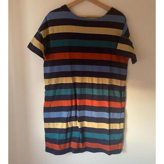 グラニフ(Graniph)の美品!Design T-shirt store graniph のワンピース(ひざ丈ワンピース)