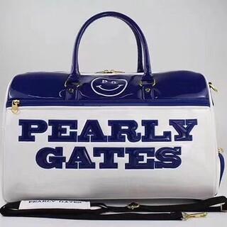 PEARLYGATES ゴルフ バッグ golf  ハンドバッグ ブルー(バッグ)