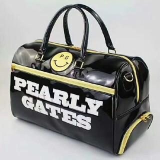 PEARLYGATES ゴルフ バッグ golf  ハンドバッグ ブラック(バッグ)