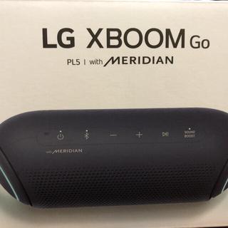 エルジーエレクトロニクス(LG Electronics)のスピーカー LG XBOOX Go PL5 with MERIDIAN 新品(スピーカー)