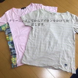 アバハウス(ABAHOUSE)のTシャツ2枚セット(Tシャツ/カットソー(半袖/袖なし))
