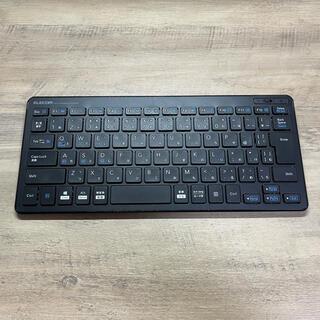 エレコム(ELECOM)のELECOM TK-FBP100BK Bluetooth キーボード(PC周辺機器)