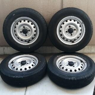 ダンロップ(DUNLOP)のダイハツ純正 12インチ スチールホイールタイヤ 4本セット(タイヤ・ホイールセット)