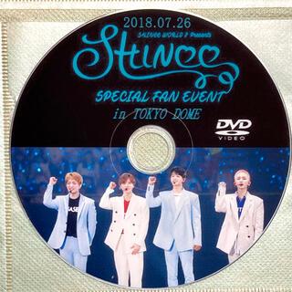 シャイニー(SHINee)のSHINee SPECIAL FAN EVENT 2018 東京ドーム DVD(K-POP/アジア)