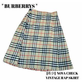BURBERRY - BURBERRYS バーバリーズ [希少]ノバチェック ヴィンテージスカート