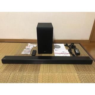 エルジーエレクトロニクス(LG Electronics)のLG SJ4 2.1chワイヤレスサウンドバー ハイレゾ対応(スピーカー)