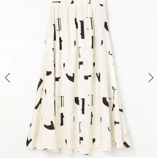 DES PRES - デプレ DES PRES リネンモザイクスカート