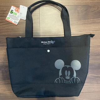 Disney - ディズニー ミッキー トートバッグ 黒 新品