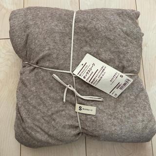 ムジルシリョウヒン(MUJI (無印良品))の無印 シングル ボックスシーツ(シーツ/カバー)