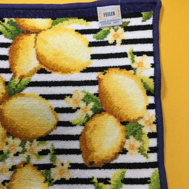 FEILER(フェイラー)のフェイラー  チェスティ コラボ🍋レモンボーダー レディースのファッション小物(ハンカチ)の商品写真