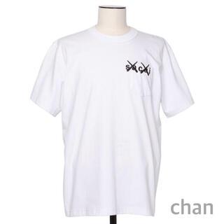 sacai - sacai x KAWS Embroidery T-Shirt