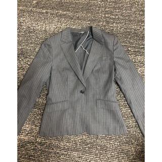 アオヤマ(青山)のグレー スーツ 3点セット 洋服の青山 n-line precious(スーツ)