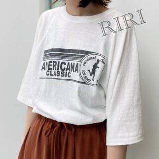 L'Appartement DEUXIEME CLASSE - 【Americana/アメリカーナ】Half Sleeve T-sh