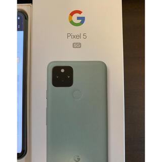 グーグル(Google)のpixel5 SIMフリー スマホ 未使用品(スマートフォン本体)