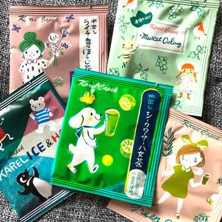 カレルチャペック ☆ 人気の紅茶 5Pセット ⑥(茶)