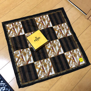 フェンディ(FENDI)のFENDI スカーフ(バンダナ/スカーフ)